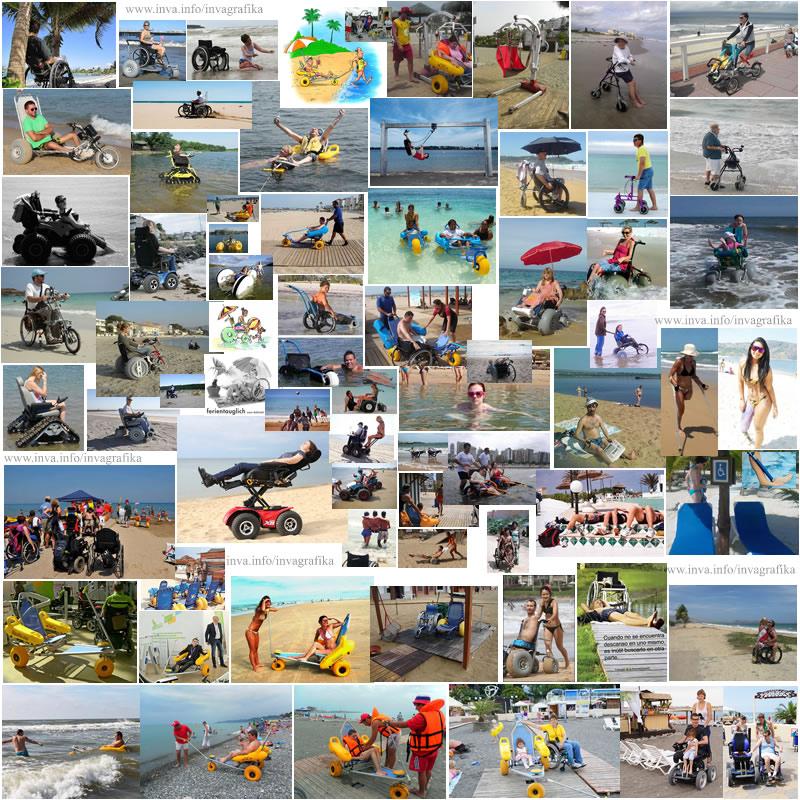Активный отдых у воды. Пляжи, оборудованные для инвалидов