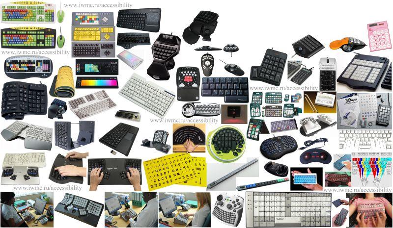 Инваграфика, специальная клавиатура для инвалидов маленькая для рук с низкой подвижностью, клавиатура с большими клавишами, беспроводная гибкая клавиатура, эргономичная клавиатура для детей с дцп, русские буквы на клавиатуру ноутбука, наклейки с русскими буквами