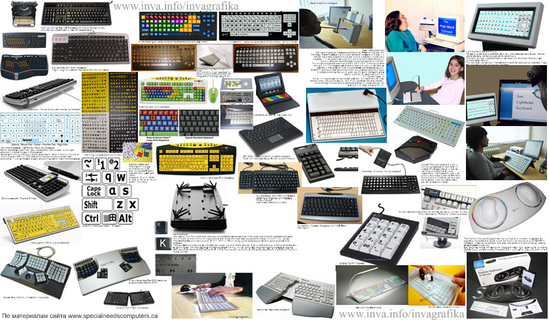 Специальная клавиатура для инвалидов маленькая для рук с низкой подвижностью, клавиатура с большими клавишами, беспроводная гибкая клавиатура, эргономичная клавиатура для детей с дцп, русские буквы на клавиатуру ноутбука, наклейки с русскими буквами