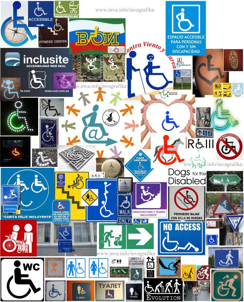 логотип инвалид: